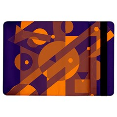 Blue And Orange Abstract Design Ipad Air 2 Flip by Valentinaart