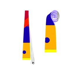 Colorful abstraction Neckties (Two Side)  by Valentinaart