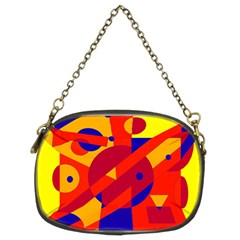 Colorful Abstraction Chain Purses (two Sides)  by Valentinaart