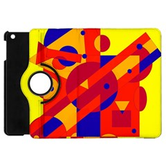Colorful Abstraction Apple Ipad Mini Flip 360 Case by Valentinaart