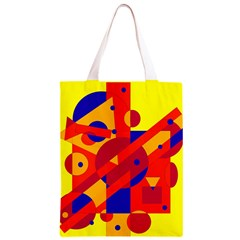 Colorful abstraction Classic Light Tote Bag by Valentinaart