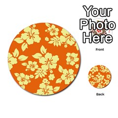 Sunny Hawaiian Multi Purpose Cards (round)