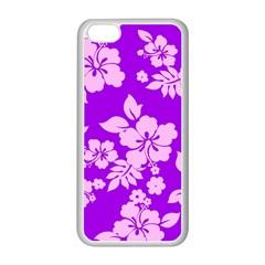 Hawaiian Sunset Apple Iphone 5c Seamless Case (white)