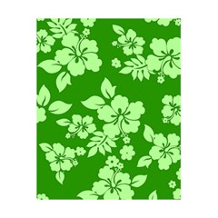 Green Hawaiian 5 5  X 8 5  Notebooks by AlohaStore