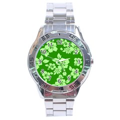 Green Hawaiian Stainless Steel Analogue Watch by AlohaStore