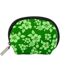 Green Hawaiian Accessory Pouches (small)  by AlohaStore