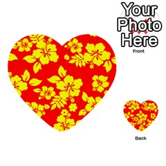 Hawaiian Sunshine Multi Purpose Cards (heart)  by AlohaStore