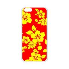 Hawaiian Sunshine Apple Seamless iPhone 6/6S Case (Transparent) by AlohaStore