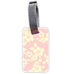 Pastel Hawaiian Luggage Tags (two Sides) by AlohaStore
