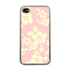 Pastel Hawaiian Apple Iphone 4 Case (clear) by AlohaStore