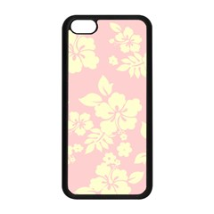 Pastel Hawaiian Apple Iphone 5c Seamless Case (black) by AlohaStore