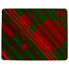 Red And Green Abstract Design Jigsaw Puzzle Photo Stand (rectangular) by Valentinaart