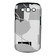 Gray Hart Samsung Galaxy S Iii Classic Hardshell Case (pc+silicone) by Valentinaart