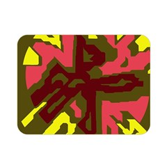 Abstract Design Double Sided Flano Blanket (mini)  by Valentinaart