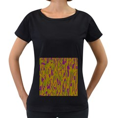 Decorative pattern  Women s Loose-Fit T-Shirt (Black) by Valentinaart