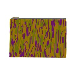 Decorative Pattern  Cosmetic Bag (large)  by Valentinaart