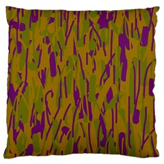 Decorative Pattern  Large Cushion Case (one Side) by Valentinaart