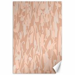 Pink Pattern Canvas 20  X 30   by Valentinaart