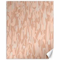 Pink Pattern Canvas 11  X 14   by Valentinaart