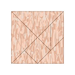 Pink Pattern Acrylic Tangram Puzzle (4  X 4 ) by Valentinaart