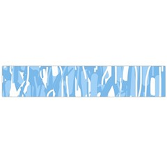 Blue Pattern Flano Scarf (large) by Valentinaart