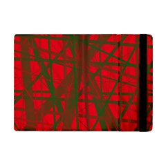 Red Pattern Ipad Mini 2 Flip Cases by Valentinaart