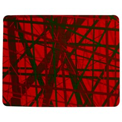 Red pattern Jigsaw Puzzle Photo Stand (Rectangular) by Valentinaart