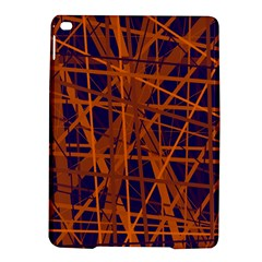 Blue And Orange Pattern Ipad Air 2 Hardshell Cases by Valentinaart