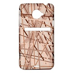 Brown pattern HTC Evo 4G LTE Hardshell Case