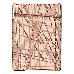 Brown Pattern Ipad Air Hardshell Cases by Valentinaart