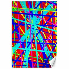 Colorful Pattern Canvas 20  X 30   by Valentinaart