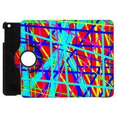 Colorful pattern Apple iPad Mini Flip 360 Case