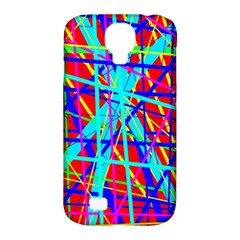 Colorful Pattern Samsung Galaxy S4 Classic Hardshell Case (pc+silicone) by Valentinaart