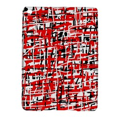 Red, White And Black Pattern Ipad Air 2 Hardshell Cases by Valentinaart