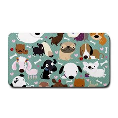 Dog Pattern Medium Bar Mats by Mjdaluz