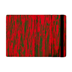 Red And Green Pattern Ipad Mini 2 Flip Cases by Valentinaart