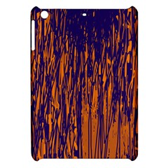 Blue And Orange Pattern Apple Ipad Mini Hardshell Case by Valentinaart