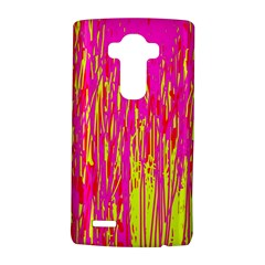 Pink And Yellow Pattern Lg G4 Hardshell Case by Valentinaart