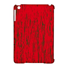 Decorative Red Pattern Apple Ipad Mini Hardshell Case (compatible With Smart Cover) by Valentinaart