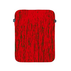 Decorative Red Pattern Apple Ipad 2/3/4 Protective Soft Cases by Valentinaart