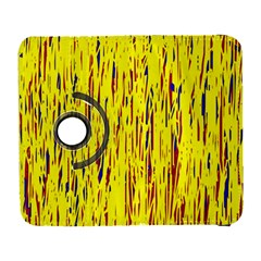 Yellow Pattern Samsung Galaxy S  Iii Flip 360 Case by Valentinaart