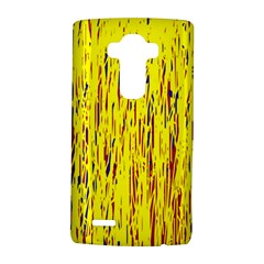 Yellow pattern LG G4 Hardshell Case