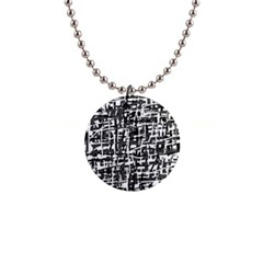 Gray Pattern Button Necklaces