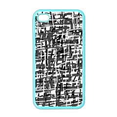 Gray Pattern Apple Iphone 4 Case (color) by Valentinaart