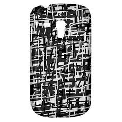 Gray Pattern Samsung Galaxy S3 Mini I8190 Hardshell Case by Valentinaart