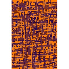 Orange And Blue Pattern 5 5  X 8 5  Notebooks by Valentinaart