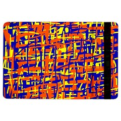 Orange, Blue And Yellow Pattern Ipad Air 2 Flip by Valentinaart