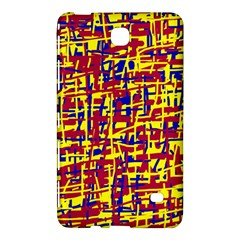 Red, Yellow And Blue Pattern Samsung Galaxy Tab 4 (8 ) Hardshell Case  by Valentinaart