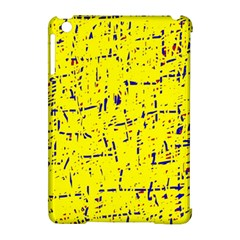 Yellow Summer Pattern Apple Ipad Mini Hardshell Case (compatible With Smart Cover) by Valentinaart