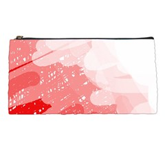 Red Pattern Pencil Cases by Valentinaart